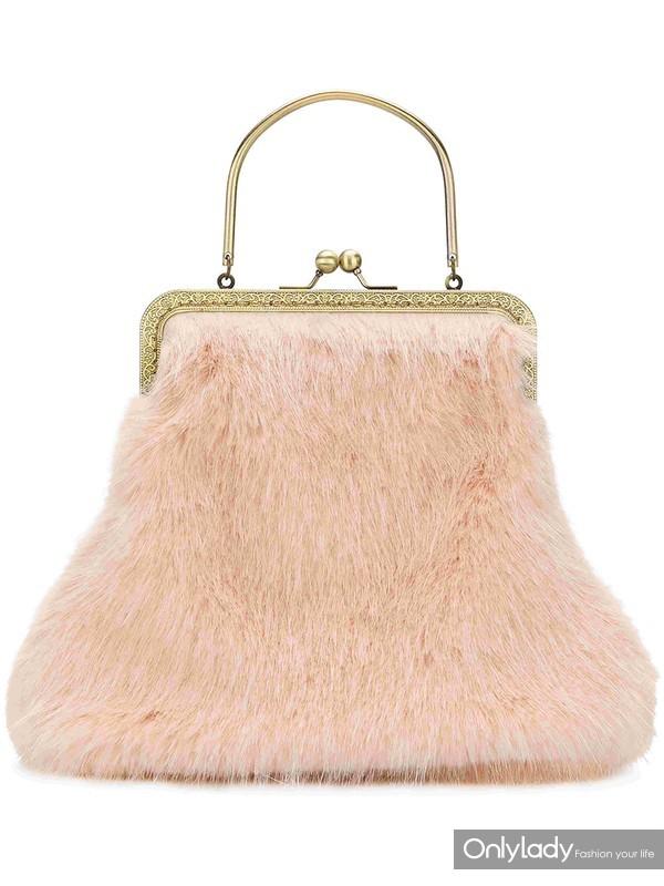 SHRIMPS Arthur faux fur bag at Farfetch