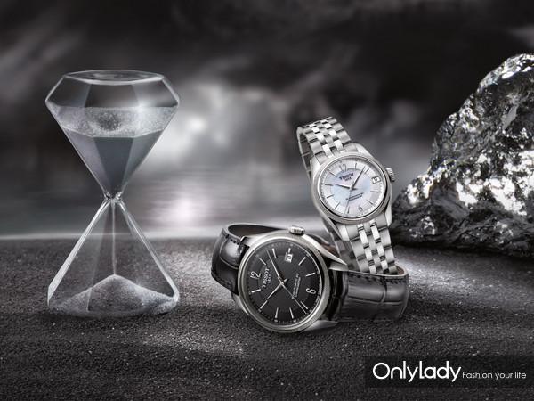 1:天梭宝环系列腕表