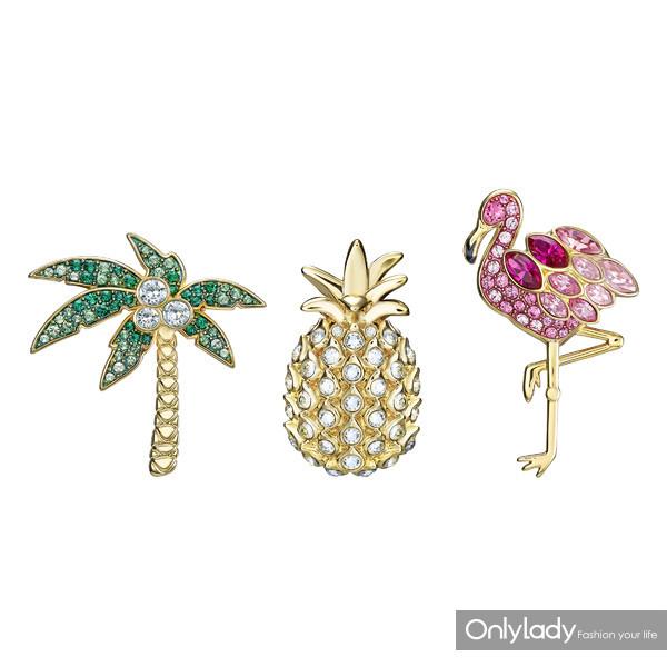 5387560 Lime brooch