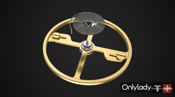 3:天梭宝环系列腕表机芯采用硅材质