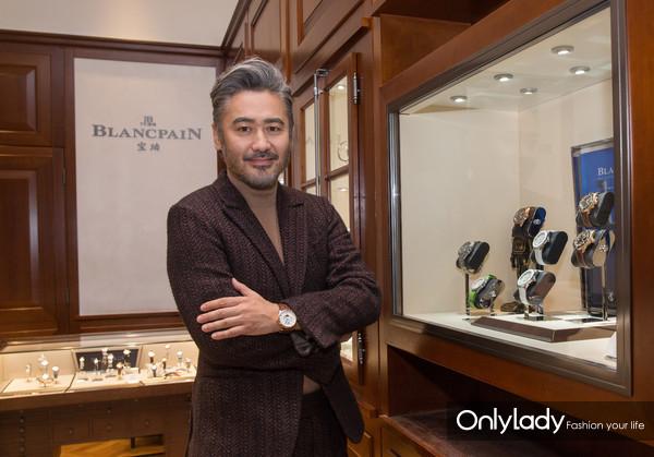 宝珀新晋风格大使吴秀波先生佩戴宝珀腕表 (2)