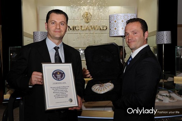 Fred-and-Pascal-Mouawad-with-the-1001-Mouawad-Diamond-Purse