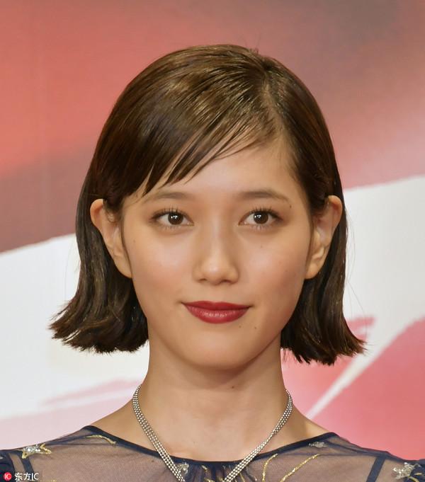 2017年10月25日,日本东京,第30届东京电影节开幕。本田翼