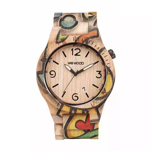 wewood木头手表,给你的冬天多一点色彩