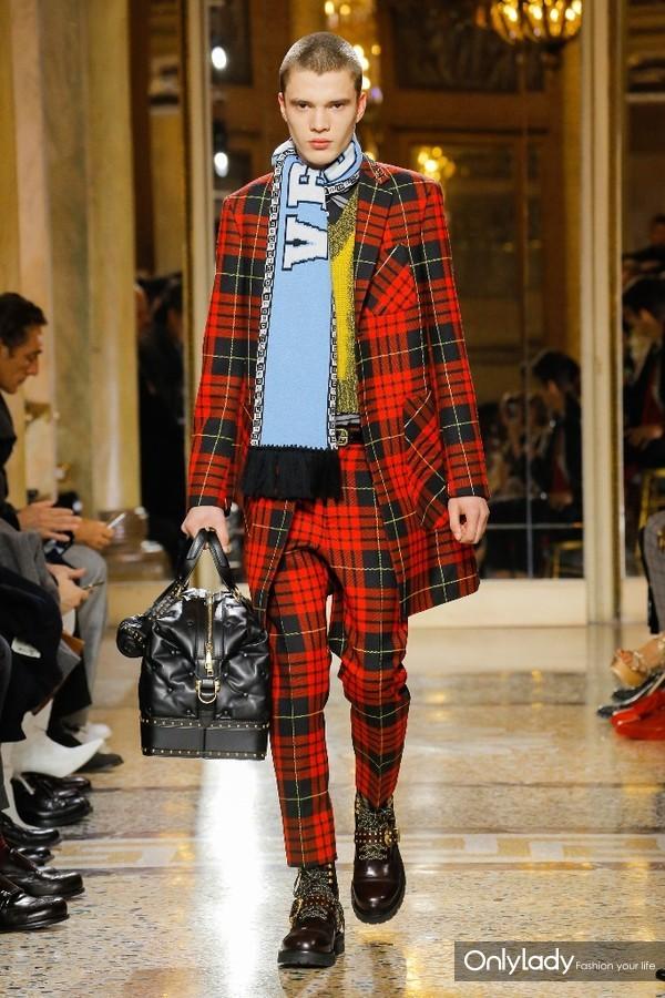 Versace Menswear FallWinter 2018秋冬男装发布 (2)