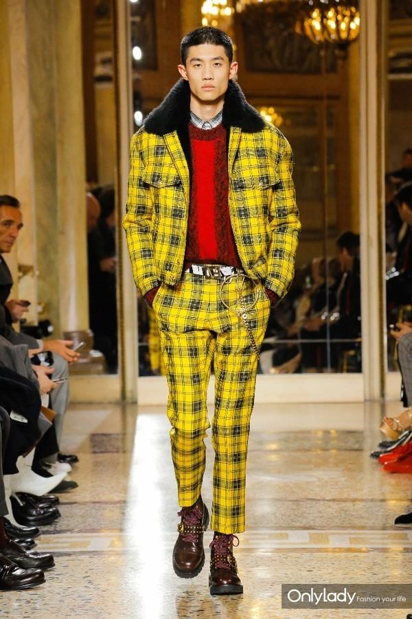 Versace Menswear FallWinter 2018秋冬男装发布