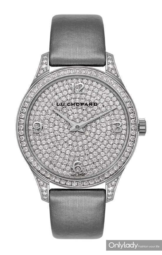 图20:Chopard萧邦L.U.C XP 全钻腕表