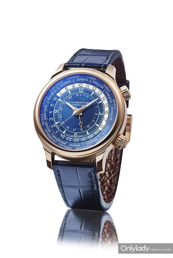 图24:Chopard萧邦L.U.C Time Traveler One北京特制版腕表