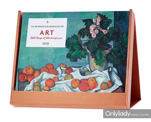 365days of masterpieces desk calendar