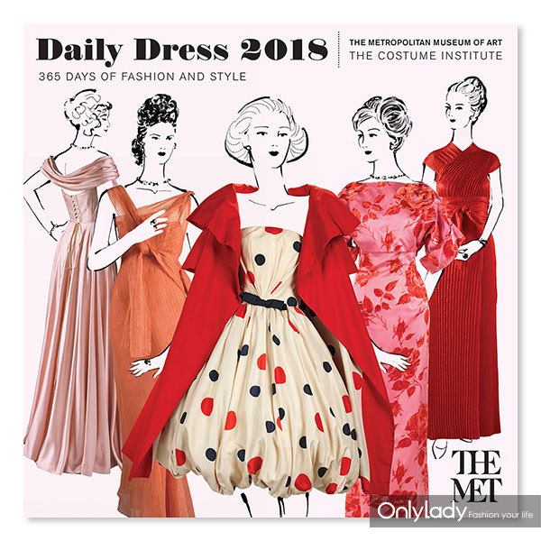daily dress wall calendar