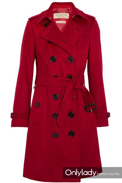 Burberry Sandringham 羊绒风衣