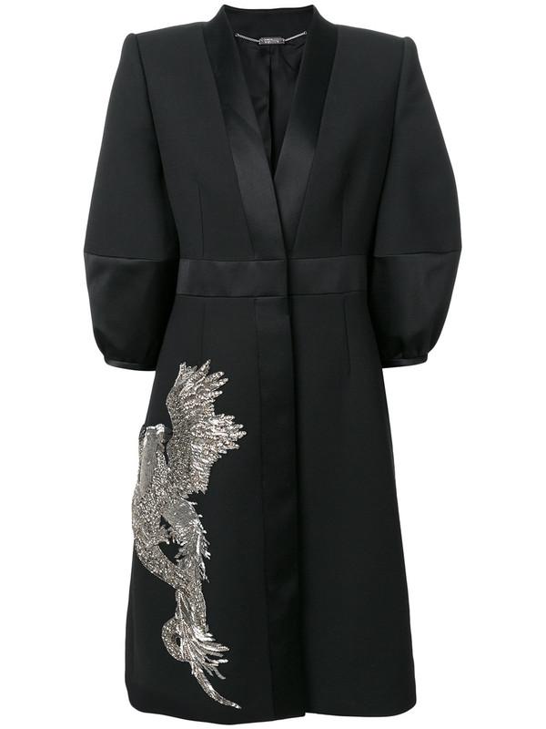 ALEXANDER MCQUEEN 凤凰与龙镶嵌小礼服