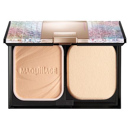 MAQuillAGE 心机彩妆 星魅轻羽长效亮白裸肌粉饼 UV