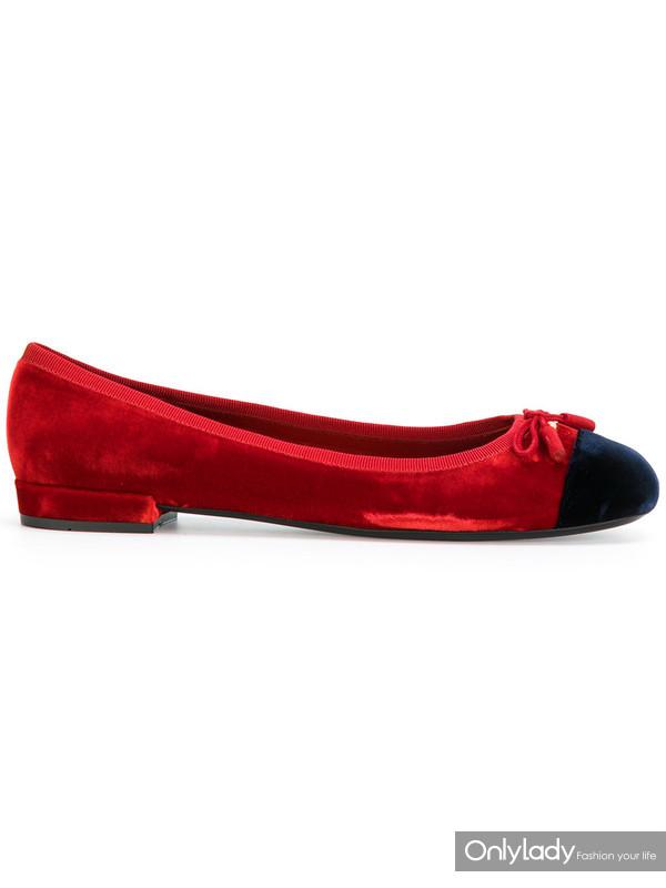 PRADA芭蕾舞平底鞋