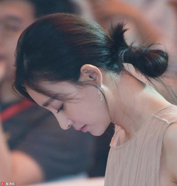 2017年7月27日,北京,金秒奖颁奖典礼。王丽坤