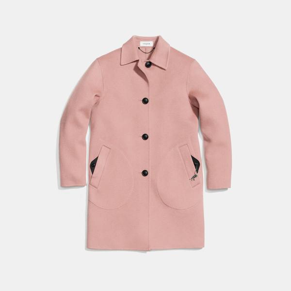 COACH 奢华羊毛外套