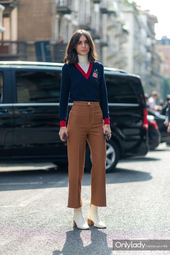 穿的越多越显瘦,披上外套后袜靴应该这样穿!
