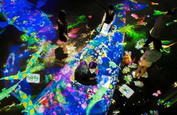 央・美术馆联袂 teamLab 打造新型奇幻艺术之旅【teamLab★未来游乐园】即将开幕