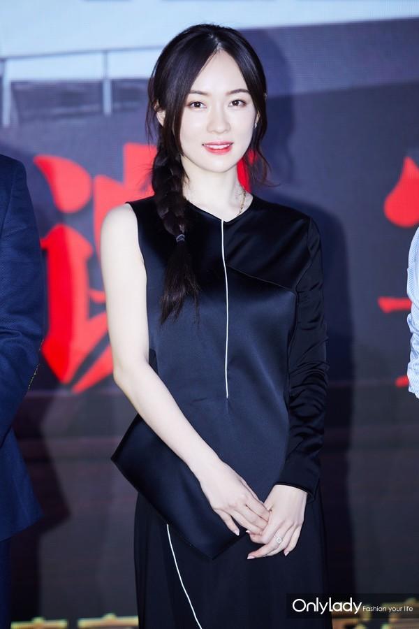 霍思燕出席《红海行动》庆功宴 (1)