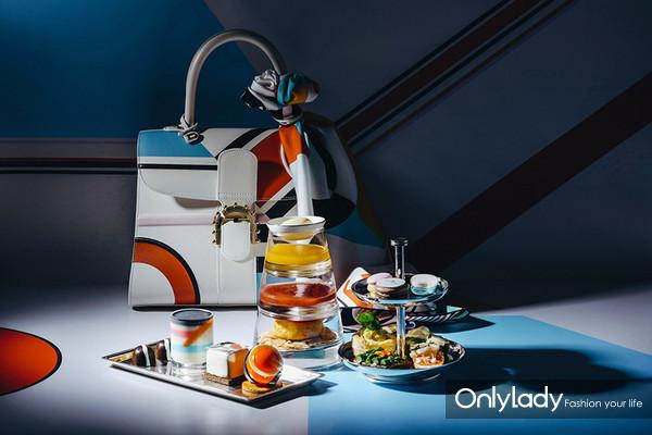 北京瑰丽酒店推出Delvaux定制下午茶