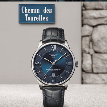 这一刻 创造下一刻  天梭杜鲁尔系列腕表 蓝色经典致敬百年匠心