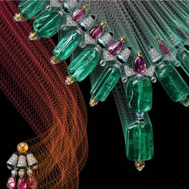 萃色万千 瑰宝无界 卡地亚Coloratura高级珠宝系列