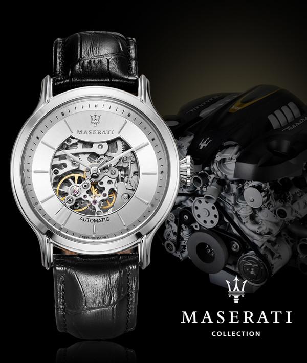 直击巴塞尔:玛莎拉蒂手表的时光呐喊