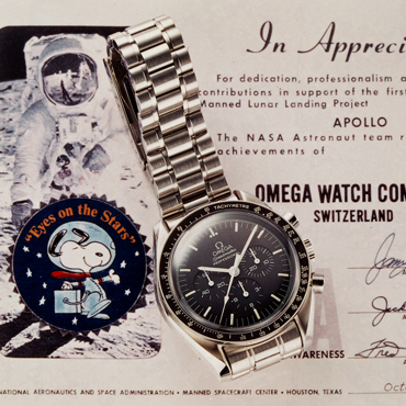 欧米茄携手NASA宇航员特里•弗茨 (Terry Virts) 致敬欧米茄的太空传奇
