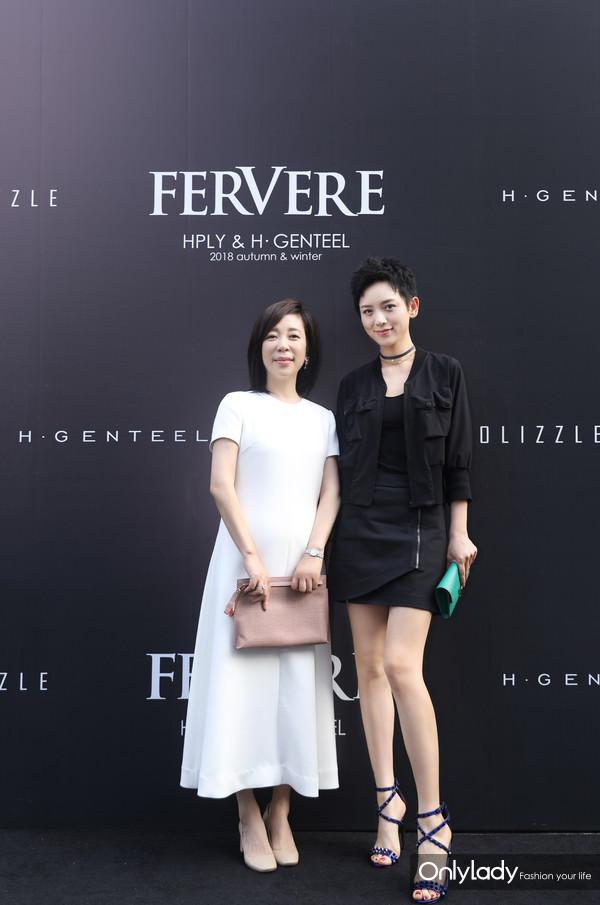 凰艮时尚集团创始人黄佩女士、李晓峰