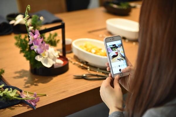 传统花艺让兰花不止于肌肤变化,更让宾客们在从容清雅间感受身心焕发的愉悦