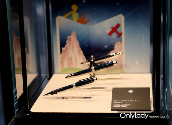 万宝龙大班系列小王子特别款书写工具现场展示(1)