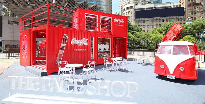 The Face Shop菲诗小铺联合Coca-cola可口可..