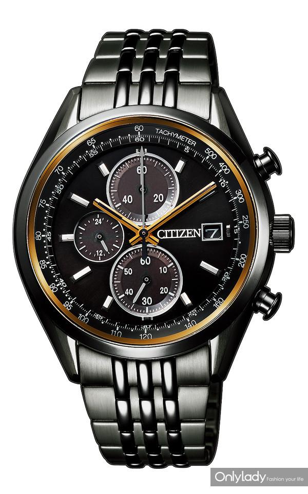 西铁城100周年纪念系列限量款-光动能15计时腕表