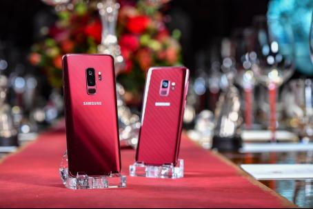 来自法国的惊艳 除了足球还有三星Galaxy S9|S9+勃艮第