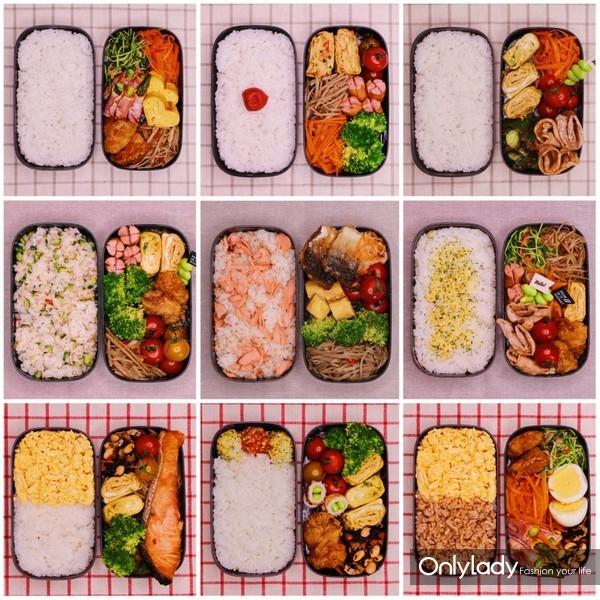 自制减脂便当不重样:九天让你瘦5斤!