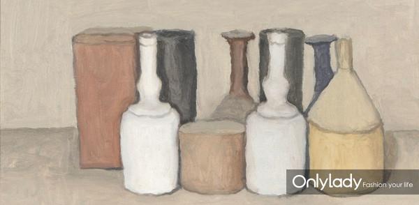 Giorgio-Morandi.-Natura-Morta-1953-Oil-on-canvas
