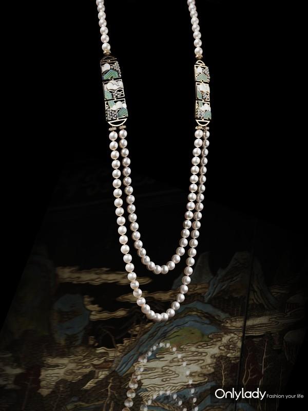 Chanel 香奈儿 臻品珠宝COROMANDEL系列Vibration Minerale项链