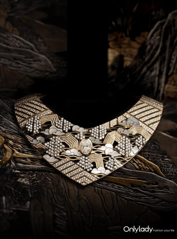 Chanel 香奈儿 臻品珠宝COROMANDEL系列Horizon Lointain项链