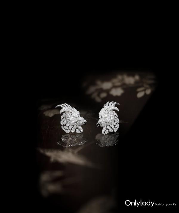 Chanel 香奈儿臻品珠宝COROMANDEL系列Vol Suspendu耳环