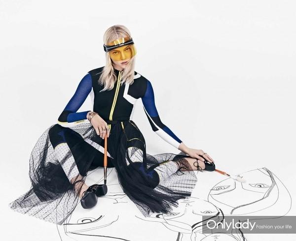 Sasha-Pivovarova-the-DiorClub1-visor-