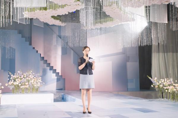 上海崇明由由喜来登酒店总经理包黎华女士致辞
