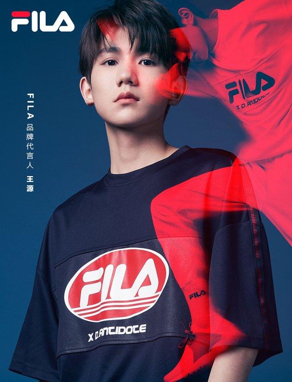 FILA全新品牌代言人王源