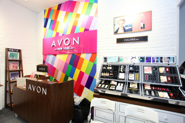 图5:AVON全新升级的6.0形象店