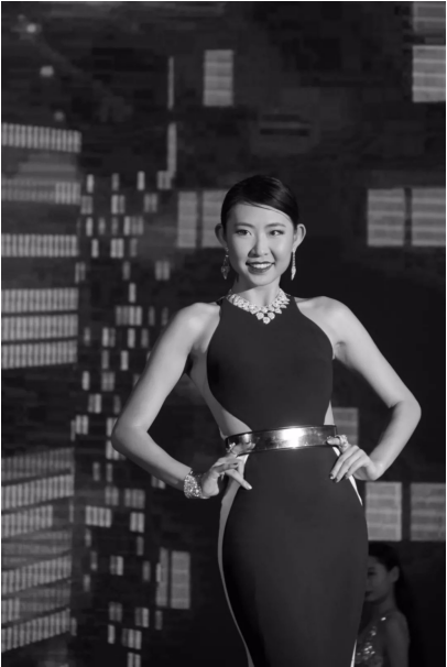 第三届中国时尚体育小姐大赛启动仪式 在琼海市万泉河广场盛大举行