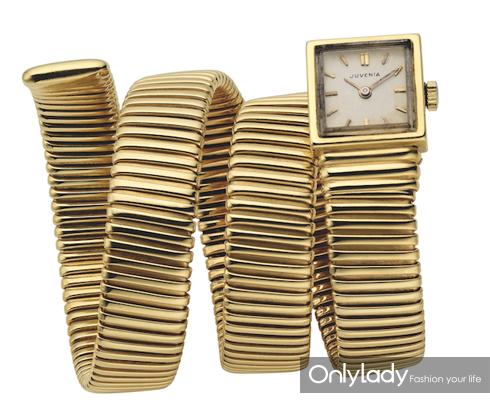 宝格丽第一枚Tubogas腕表,创作于1949年