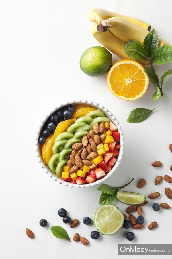 图4:加州巴旦木是蛋白质和膳食纤维的极佳来源,深受健身人士的青睐。