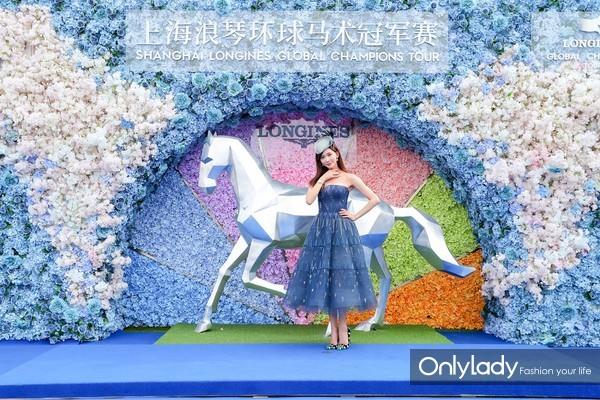 2018上海浪琴环球马术冠军赛(明星03)