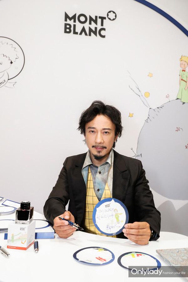 著名演员赵立新先生在活动现场互动体验区