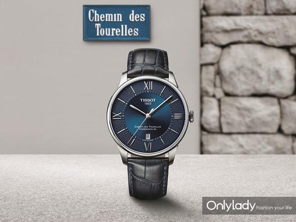 图2:天梭杜鲁尔系列腕表传承165周年珍贵历史