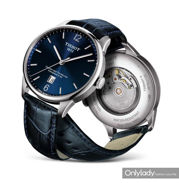 图5:天梭杜鲁尔系列腕表机芯采用机械动力80机芯